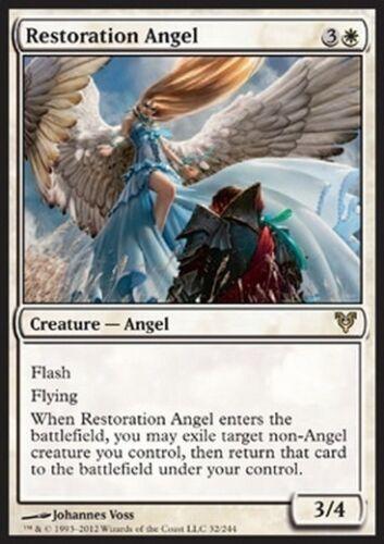Restoration Angel MTG MAGIC AVR Eng//Ita Angelo della Restaurazione