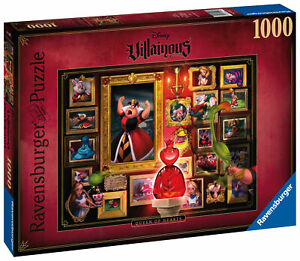15026 Ravensburger Villainous Queen of Hearts 1000pc Adult's Jigsaw Puzzle 12yr+