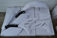 RACE TECH WHITE  PLASTIC KIT YAMAHA YZ250F YZF250F 2010 2011 2012 2013