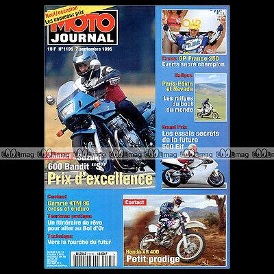 Heb Een Onderzoekende Geest Moto Journal N°1195 Ktm 125 250 360 Gs & Gx Honda Xr 400 Suzuki Gsf 600 Bandit Duurzaam In Gebruik