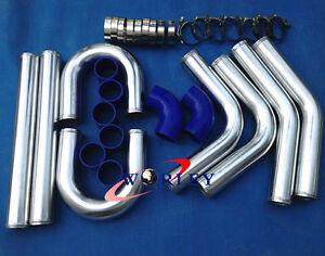 51 mm Tubo intercooler corto de aleaci/ón de aluminio para coche uxcell