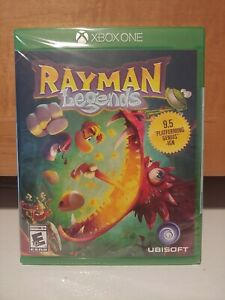 Rayman Legends Microsoft Xbox One Sealed NEW Epic Game FREE SHIPPING