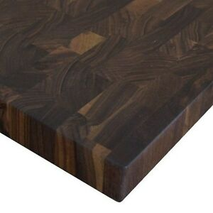 Pleasing Details About Black Walnut End Cutting Board Butcher Block Usa Download Free Architecture Designs Rallybritishbridgeorg