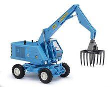Busch H0, 42887 Mobilbagger T174- 1 mit Zinkengreifer, Automodell 1:87