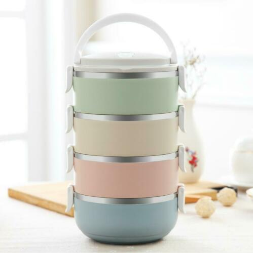 Thermal Bento Box Insulated Food Container Portable Picnic Bowl Lunch Insulation