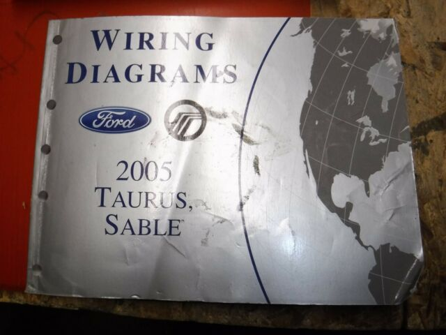 2005 Ford Taurus Lincoln Sable Original Factory Wiring