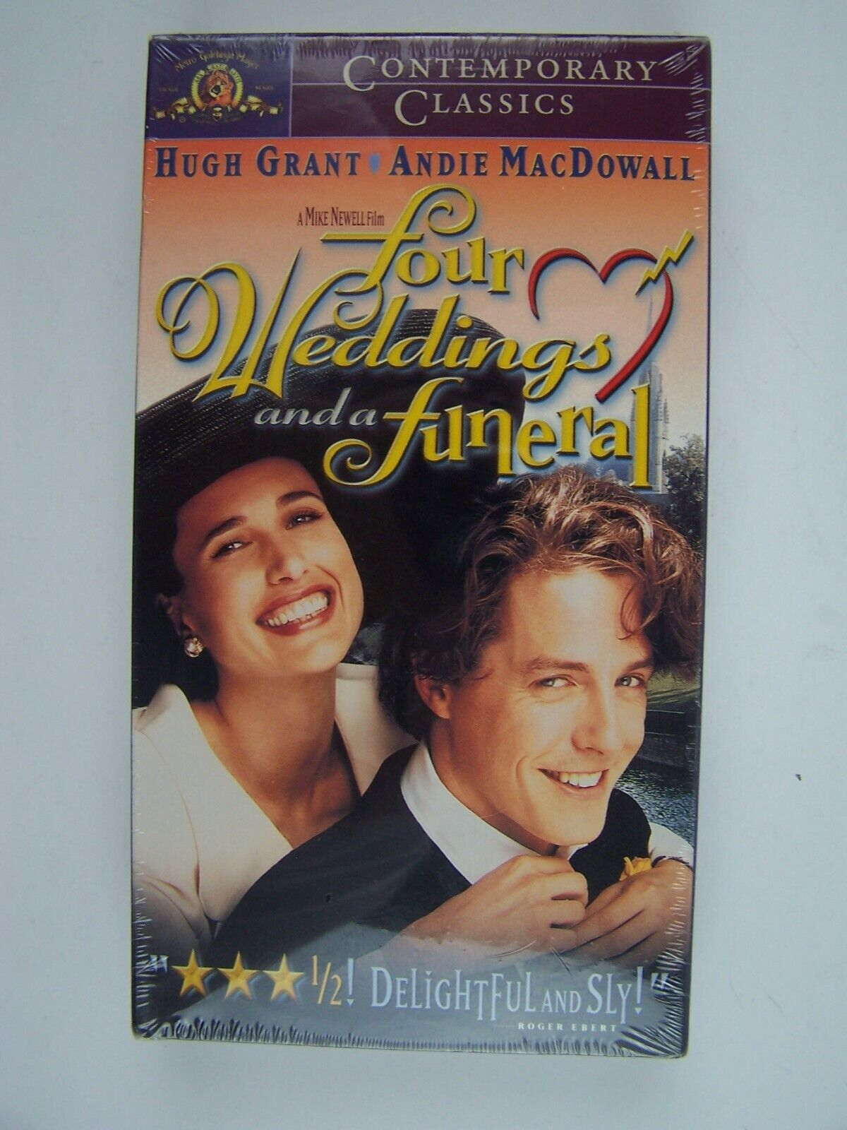 Four Weddings and a Funeral VHS New Sealed 27616771834