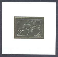 MONGOLIA 1993, Butterflies, Turtle, DeLuxe SS gold, MNH**(25)