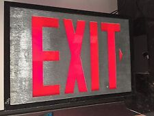 ATLITE EXIT SIGN LED WALL MOUNTED EMERGENCY 120/277