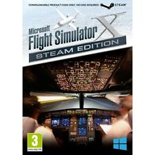 Microsoft Flight Simulator X Steam Edition PC Game - Brand new!