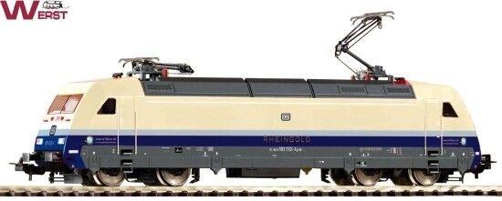 Piko 71077 E-Lok BR 101 112-1 DB  Rheingold  Digital+Sound DC H0 NEU & OVP