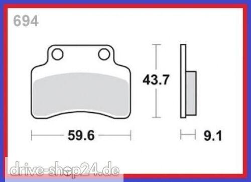 Bremsklötze Bremsbeläge BAOTIAN BT49QT-12D1-12E-12E1 50