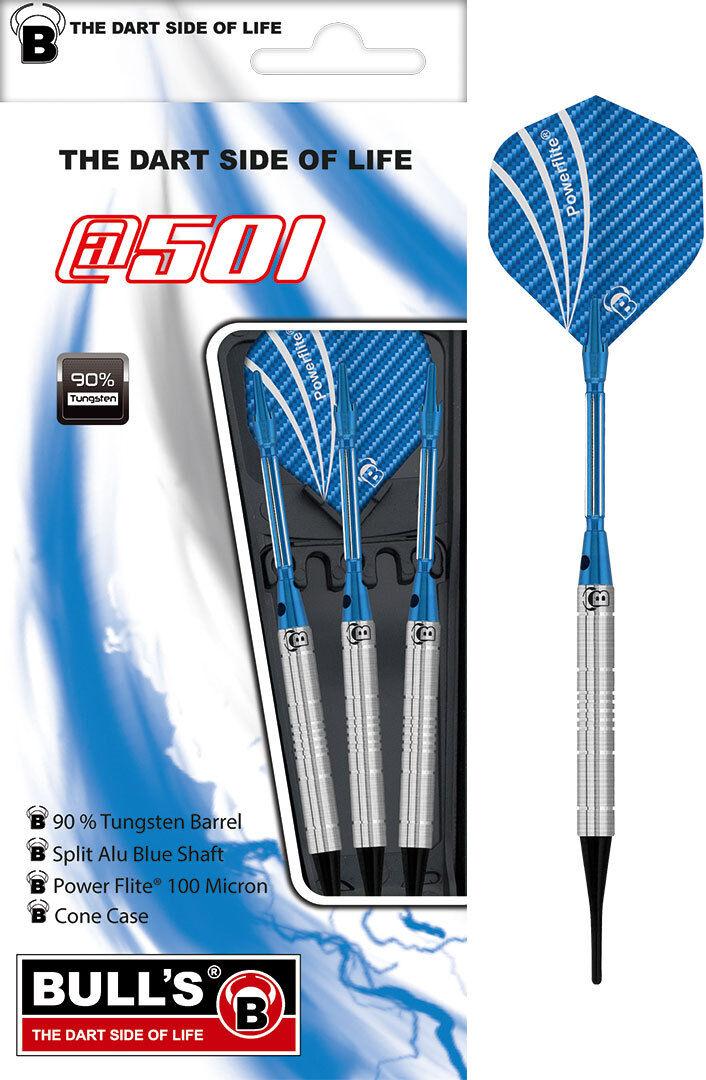 BULLS BULL´S Soft E Darts Dartset Dartsatz Dart Dart Dart a501 at3 Micro Grip 16 gr 18076 566f00