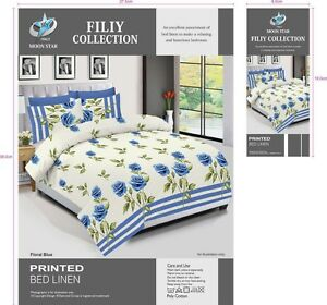 NEW-Duvet-Cover-Bedding-Set-With-Pillow-Cases-amp-Fitted-Sheet-All-Sizes
