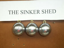 FREE SHIPPING 6 oz inline trolling sinkers choose quantity 3//6//12//25//50//100