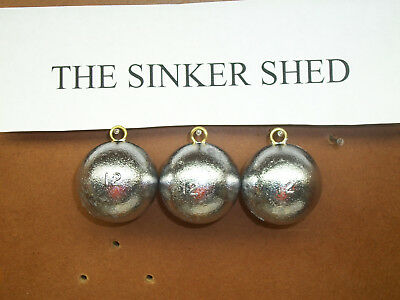 decoy weight 4oz river coin sinkers quantity of 12//25//50//100 FREE SHIPPING