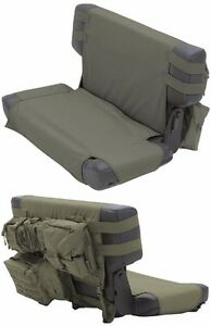 Image Is Loading Smittybilt G E A R MOLLE Rear Seat Cover And 5