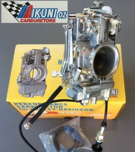 Mikuni 48-2P HSR48 Carb Polished & Chrome for Harley Davidson motorcycle