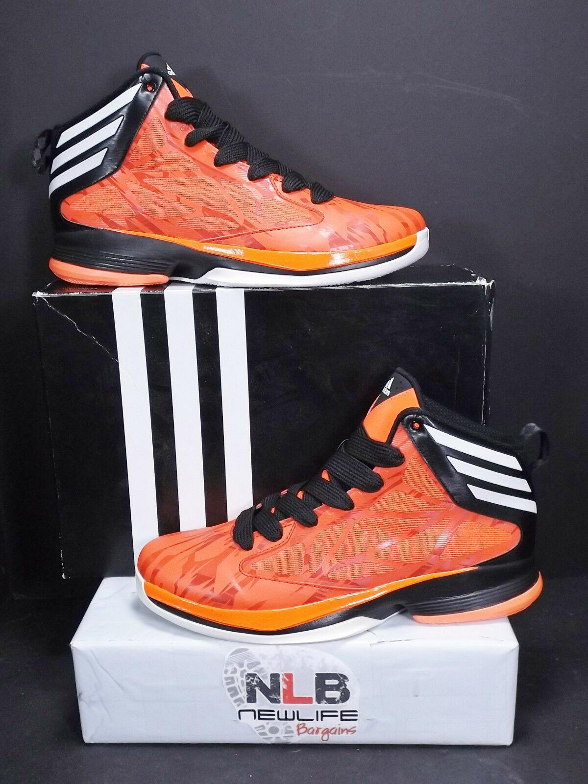 2012 Shoes Adidas Crazy Fast Basketball Shoes 2012 G59724 Infra Red Men's Size 12 56c077
