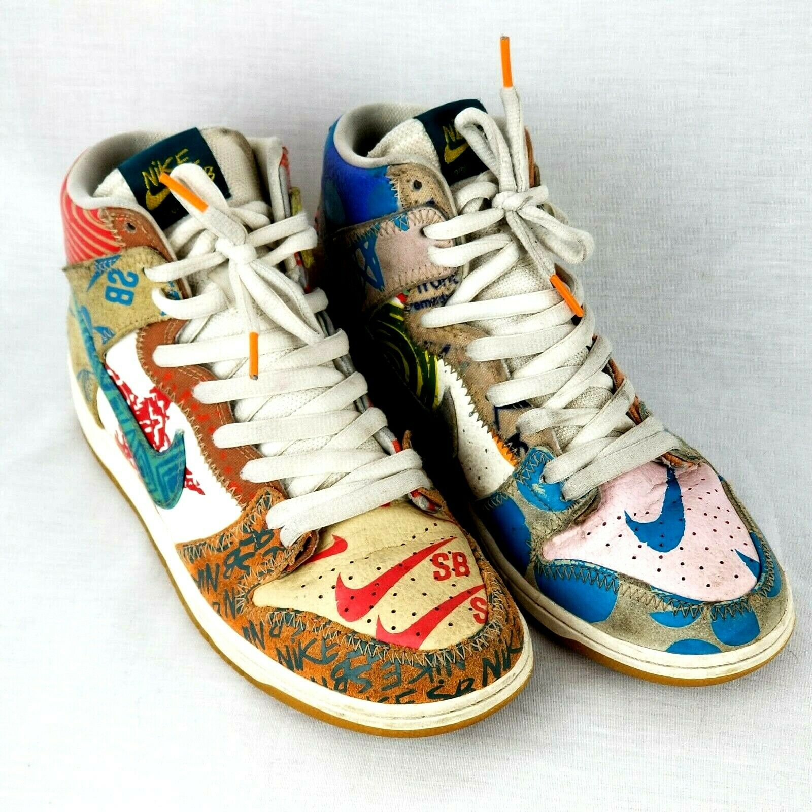 Nike SB Thomas Campbell What the Dunk 918321-381 Size 9