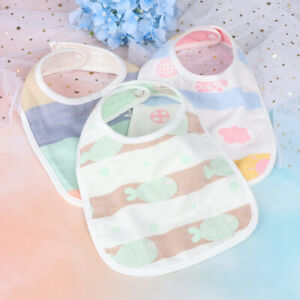 Baby-Bibs-Boy-Girl-Water-Absorb-Bib-Cloth-Cotton-Scarf-Soft-Accessories-FeediWG
