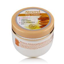 Crema de Día Hidratante para Piel Seca y Sensible con Aceite de Almendras