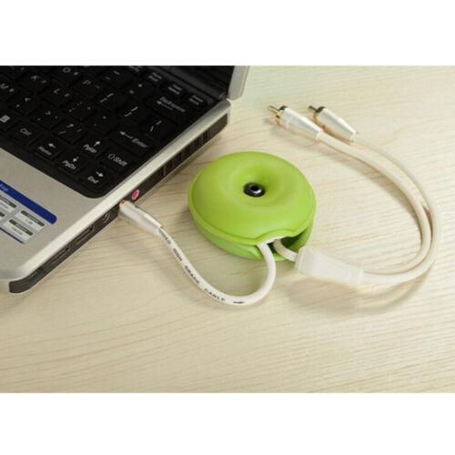 Turtle cable cord organizer wrap wire winder earphone headphone holder TEUS PL