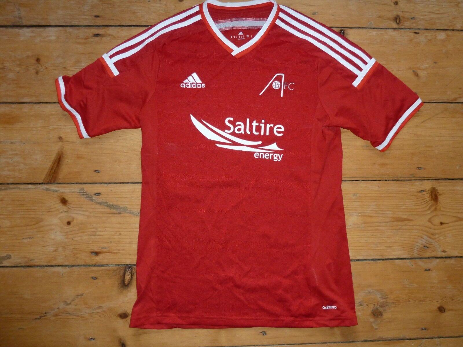 Aberdeen FC Fußball Trikot Schottische Schottische Schottische Adizero 86.4cm L Jugendliche  | Maßstab ist der Grundstein, Qualität ist Säulenbalken, Preis ist Leiter  838681