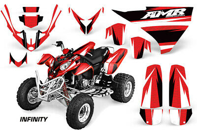 ATV Graphics Kit Decal Sticker Wrap For Yamaha YFZ450R//SE 2009-2013 HATTER-RW