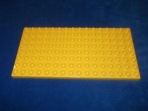 Lego Duplo Bauplatte 8 x 16er Noppen Rot Platte Krankenhaus Puppenhaus
