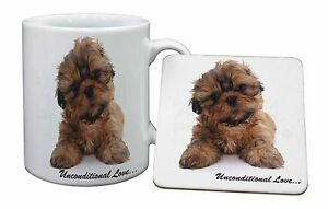 Image Is Loading Shih Tzu Dog Love Mug Coaster Christmas Birthday