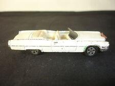 RARE ERTL Boss Hogg's Convertible Cadillac Toy Diecast Car Horns 1981 White