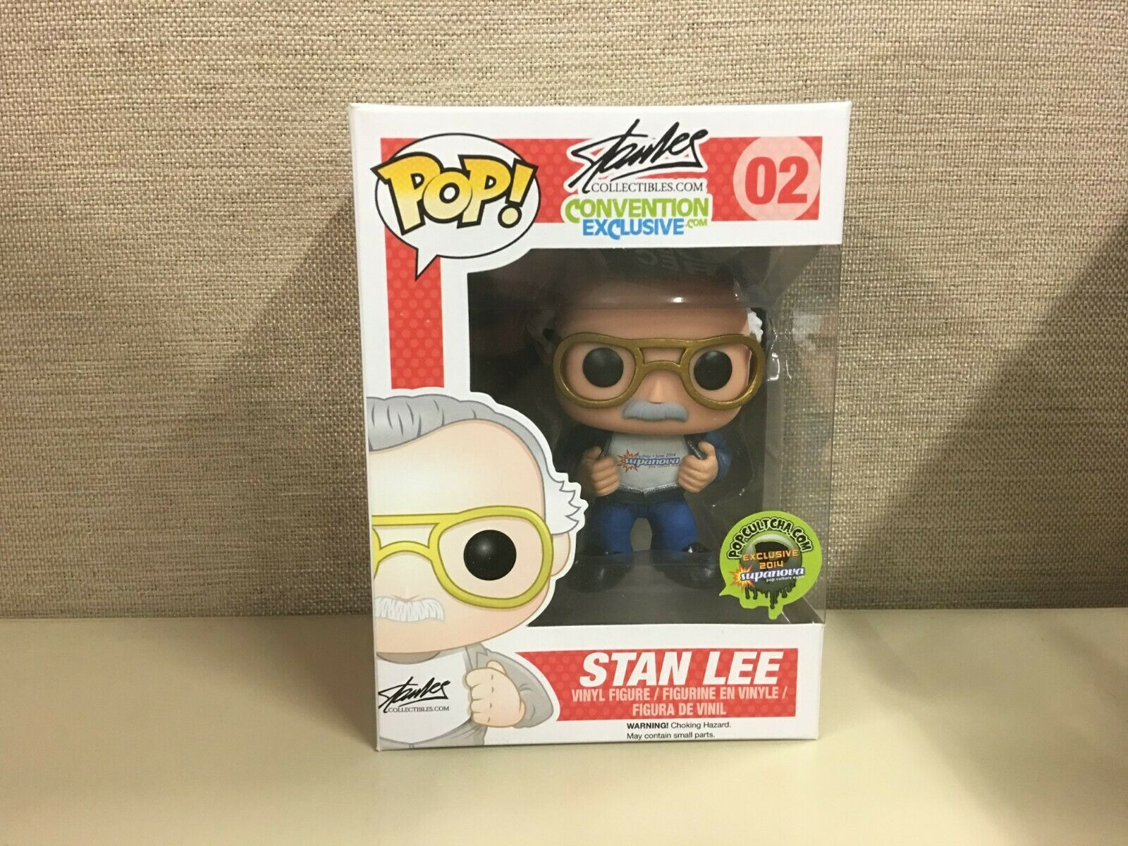 Funko Pop stanleecollectibles. com Stan Lee popcultcha 02 2014 exclusivo supanova