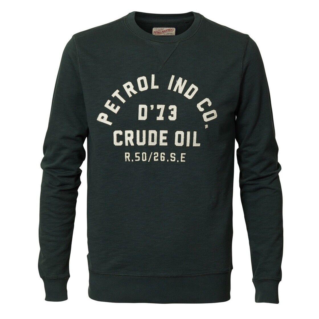 PETROL INDUSTRIES Sweatshirt Sweater bottle Grün M-FW18-SWR363