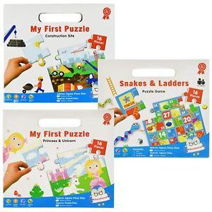 16pc-Mon-Premier-Puzzle-Enfants-educatif-Problem-Solving-jeu-jouet