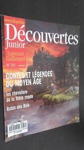 Revista Semanal Dibujada Descubrimientos Junior N º 33 Gallimard Buen Estado