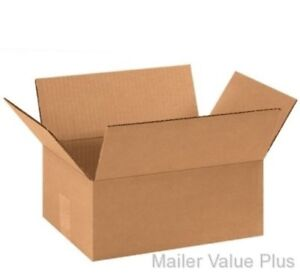 200 4x3x3 White Cardboard Paper Boxes Mailing Packing Shipping Box Carton