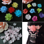 50pc-15mm-Acrylic-Hairwear-Flower-Beads-DIY-craft-Petals-Jewerly-Making-Bead thumbnail 2