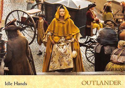 Outlander Season 2 BASE Trading Card #17 IDLE HANDS 2017