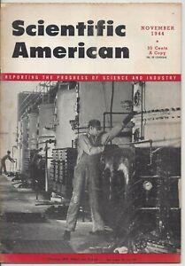 Scientific American Magazine November 1944 WWII Gliders Thermit
