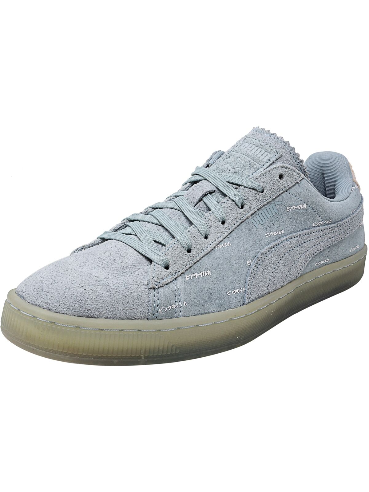 Puma Men's V2 Pink Dolphin Ankle-High Suede Fashion Sneaker