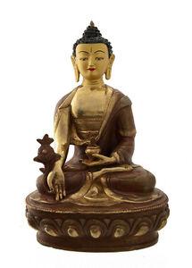 Soprammobile-Tibetano-Budda-Ratnasambhava-Rame-E-Oro-Nepal-Budda-AFR8-4888