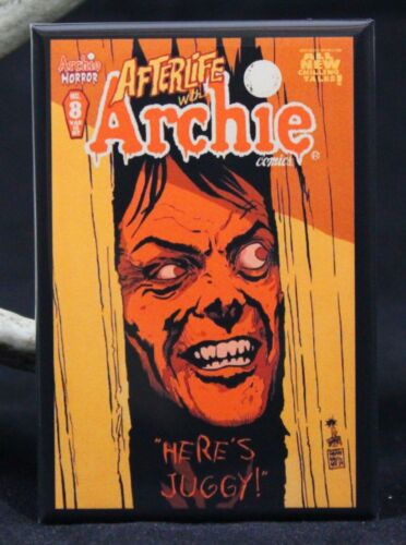 """Jughead Afterlife with Archie #8 Comic Cover 2/"""" X 3/"""" Fridge Locker Magnet"""