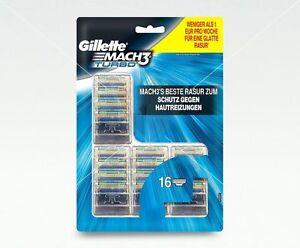 Gillette-Mach3-Turbo-Original-Rasierklingen-Vorteilspack-16-Stueck-Blister-Pack