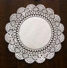 "8"" Cambridge Paper Lace Doilies White -  Pack of 50"