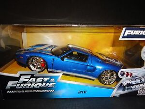 Image Is Loading Jada Ford Gt  Blue Fast And Furious