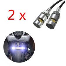 2PCS LED Stud License Plate Screw Universal Light Bolt Motorcycle Car SMD Lamp
