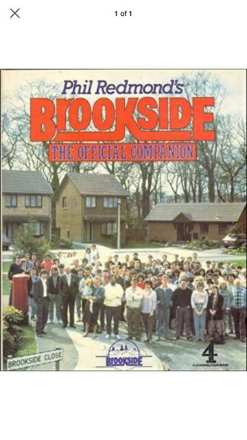 Phil Redmond's Brookside: The Official Companion by John McCready Hardback Book