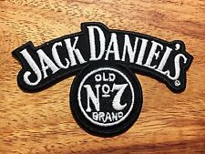 JACK DANIEL'S Old Whiskey Patch Embroidered Sew on / Stick on Clothing.