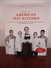 Here In America's Test Kitchen From The Editors of Cook's Illustrated Hardcover